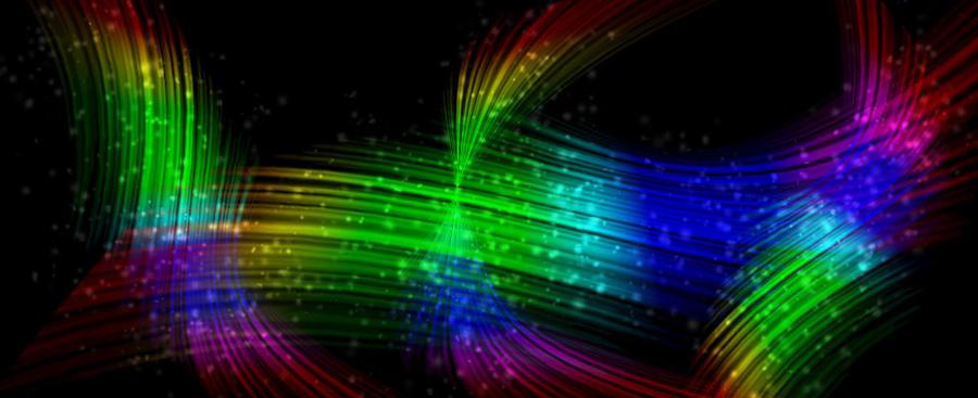 Rainbow Lines by bassdrummerkid