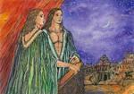 Babylon.Alexander of Macedon and Hephaestion by Ephaistien