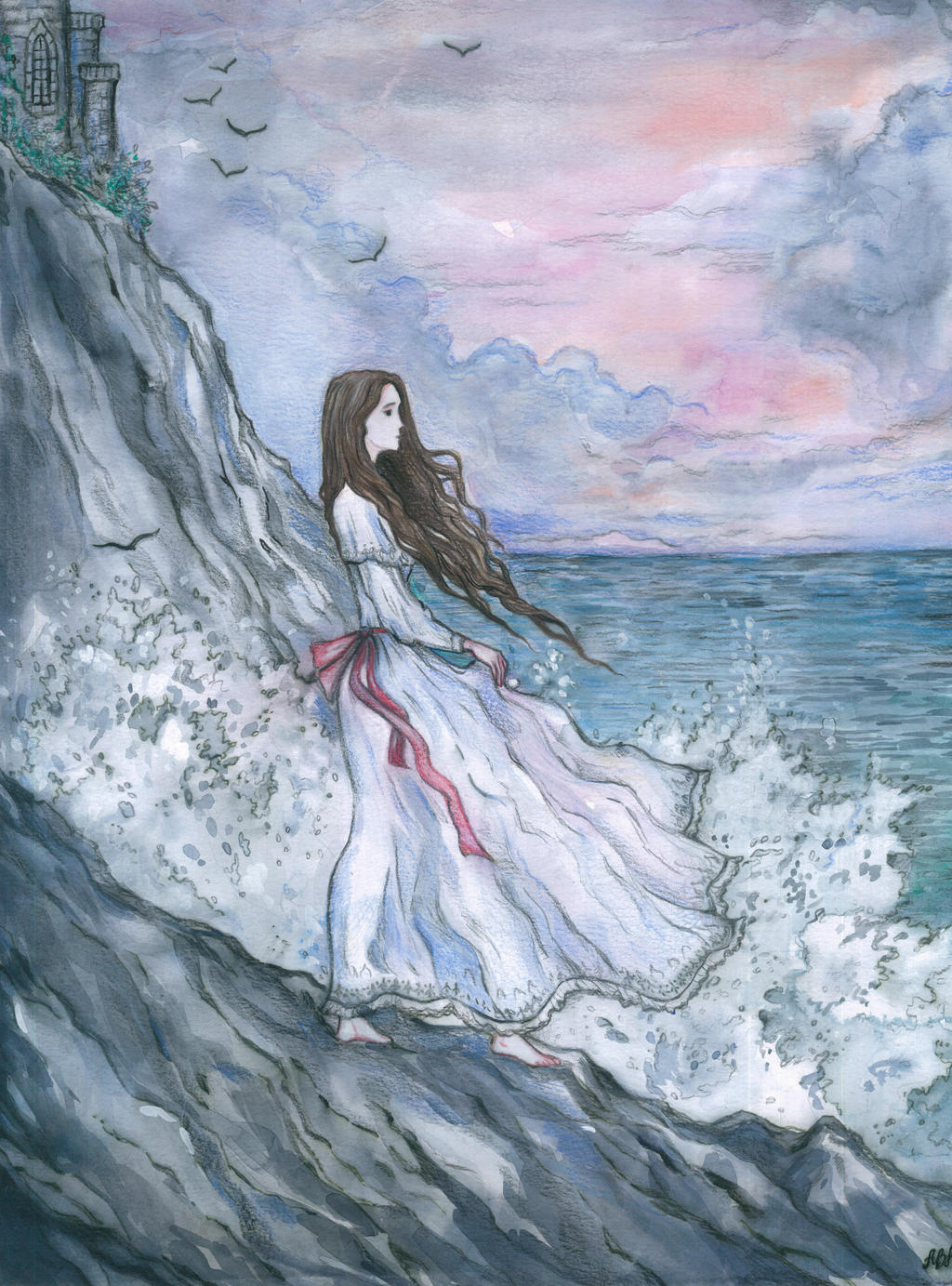 Annabelle lee ii by ephaistien on deviantart for Lee s painting