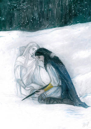 I will never leave you,son of Hurin by MarysMirages