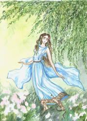 Eurydice the driad by Ephaistien