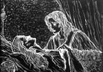 Hephaestion's death by MarysMirages