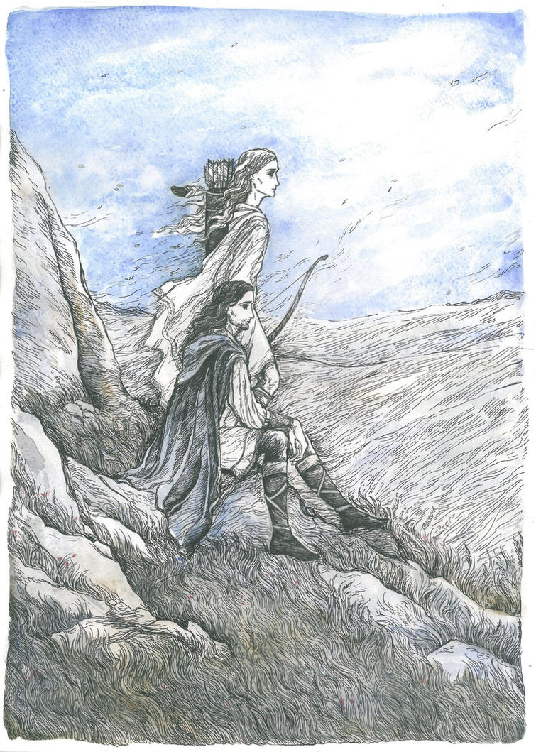 Two captains. Guardians of Amon Rudh by Ephaistien