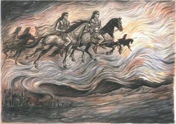 Spirits of ancient battles.Memories of Alexander by Ephaistien