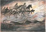 Spirits of ancient battles.Memories of Alexander