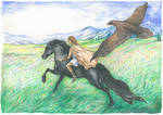 Young Alexander and Bucephalus