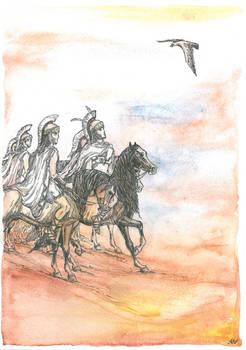 Alexander before the Battle of the Gaugamela