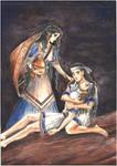 Thetis. Achilles mourns Patroclus (New Armour)