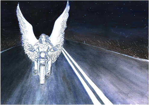 Going to the run, Angel