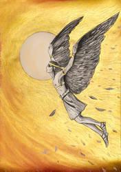 Icarus Flight by Ephaistien