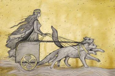 Freyja by Ephaistien