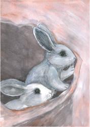 Bunnies by Ephaistien