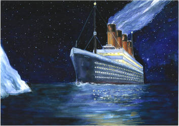 Titanic goes to eternity by Ephaistien