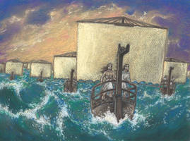 Thousand ships II (Iliad. Achilles. Patroclus)
