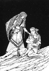 Achilles mourns Patroclus.New Armour II