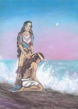 The Son of the sea (Iliad)