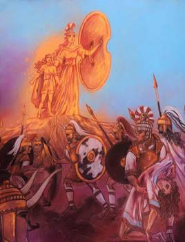Voice over the battlefield (Iliad)