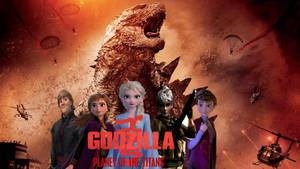 GODZILLA: PLANET OF THE TITANS poster