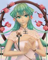 Hatsune Miku 13th Birthday Anniversary by Bunga-Rin
