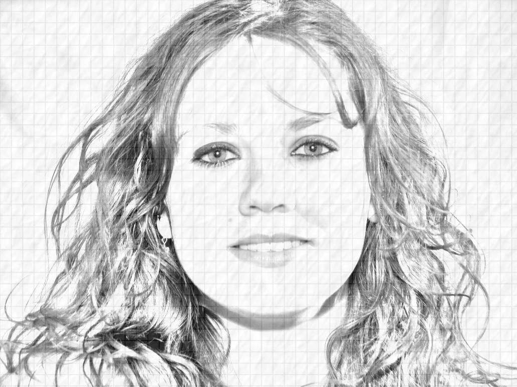 Pencil drawing effect 3 by shadowtutorials by zarodas