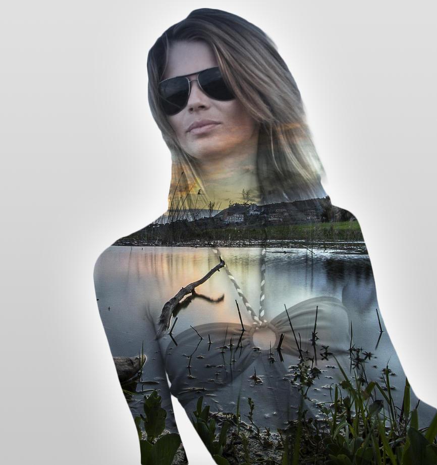Double exposure 001 ShadowTutorials by zarodas