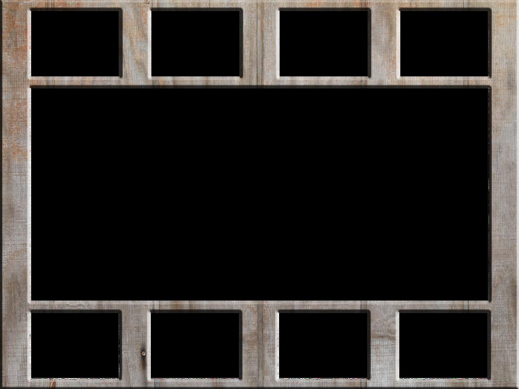 wood wall collage frame by zarodas on deviantart. Black Bedroom Furniture Sets. Home Design Ideas