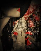 walking on Paris by MaryCapogna