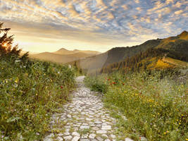 Mountains-path-premade by DolceLunaCreations
