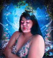 Don't Cry Sweet Fairy by ArtOfElisaCapogna