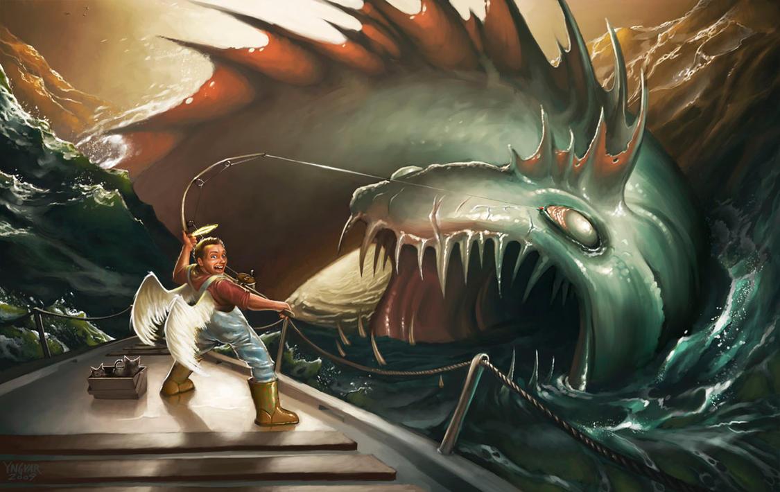 Fishing For Evil by YngvarAsplund