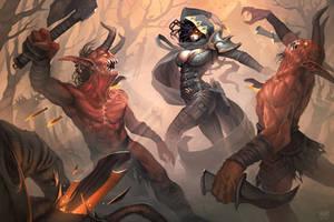 Demon Hunter by YngvarAsplund