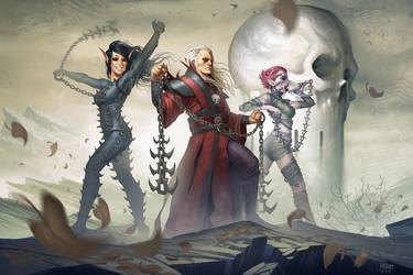 Evil Adventurers by YngvarAsplund