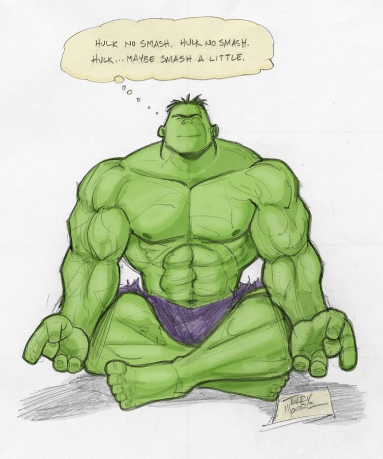 Happy Hulkin New Year
