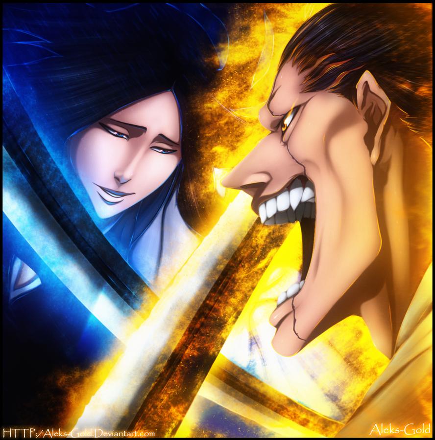 Battle Kenpachi by Aleks-Gold