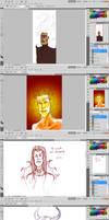 Screenshotsofdrawings by Anomalies13