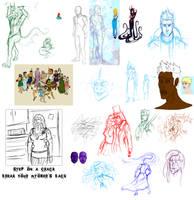 Random Sketches 2 by Anomalies13