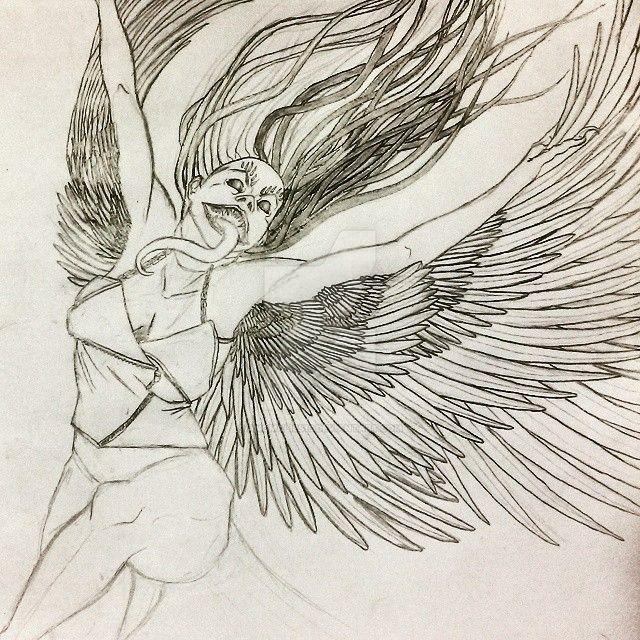 Demon Harpy [wip] by Anomalies13