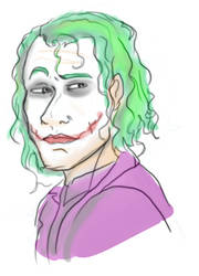 Tumblr Sketch of Joker