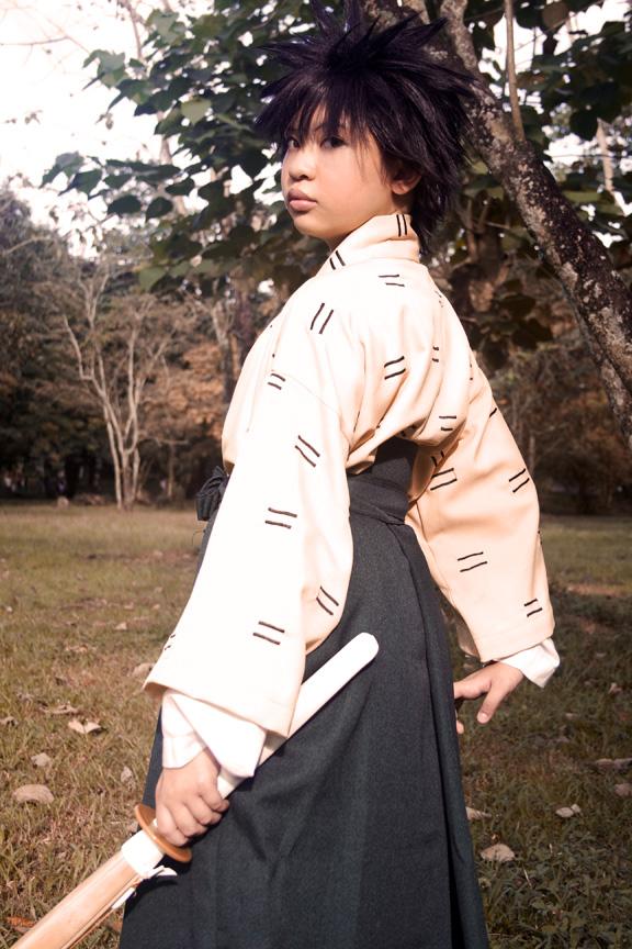 RK: Yahiko Stance by SavingSunlight
