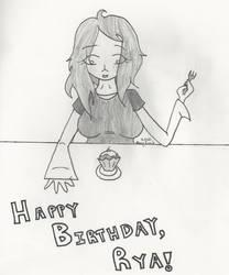 Happy Birthday, Rya '10 by gleefulcynic