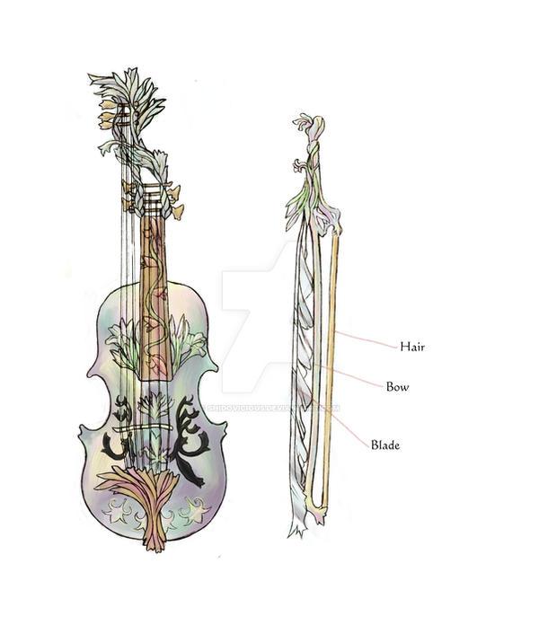 weapon design 'Faerie Flora'