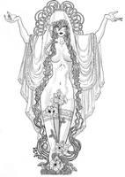 Marah Goddess of Peace by ShidoVicious