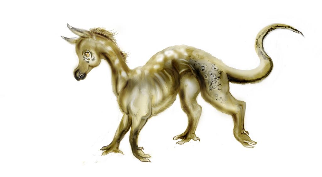 Baby Ocelot Dragon adopt by nolimetangere94
