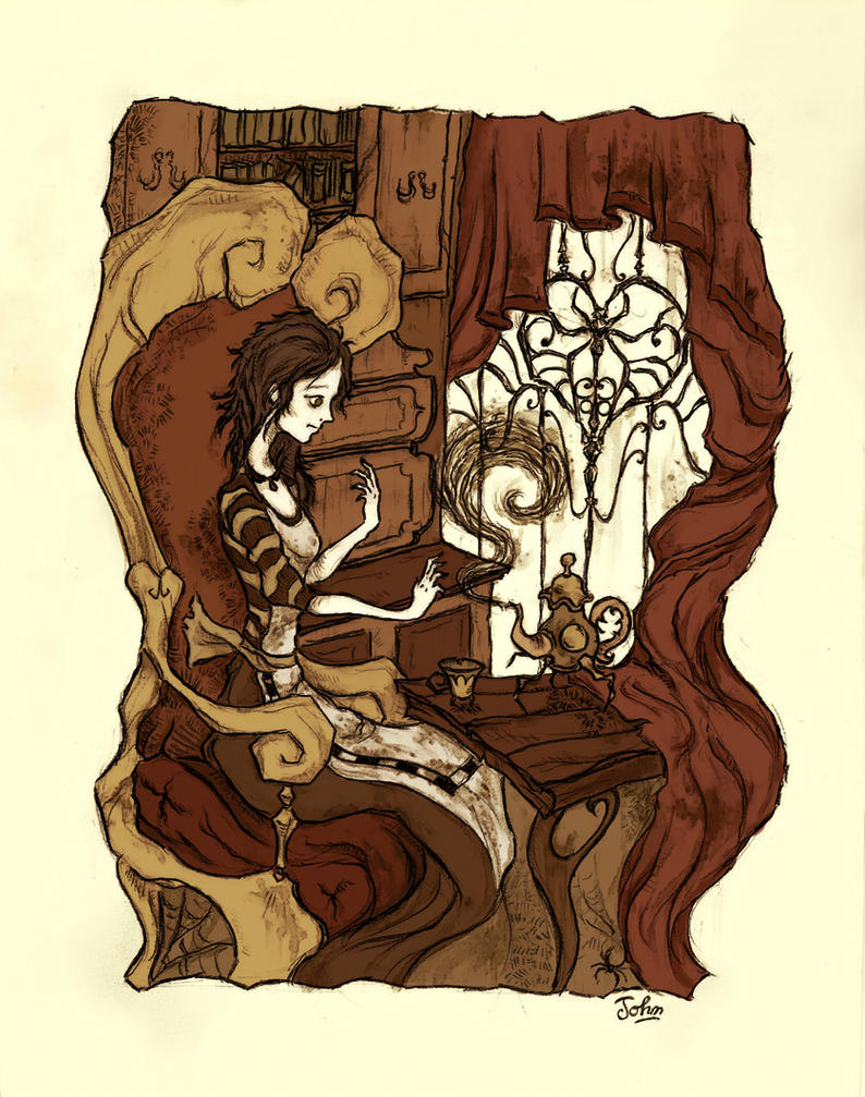 Alice Madness Returns - London Tea Party by BenJogan