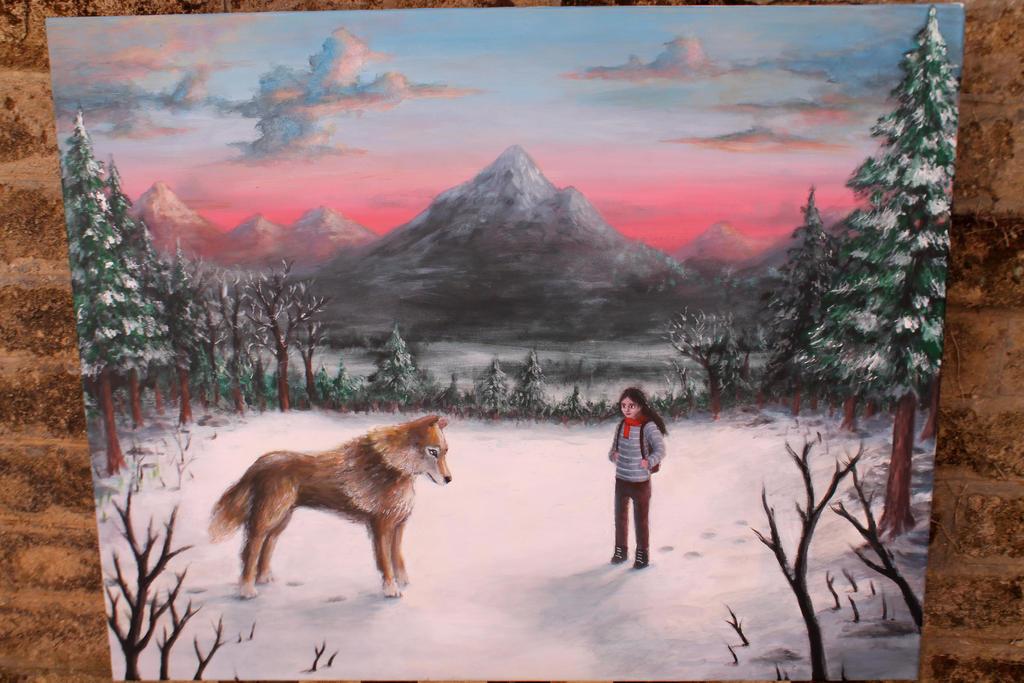 acrylics on canvas 2 by BenJogan