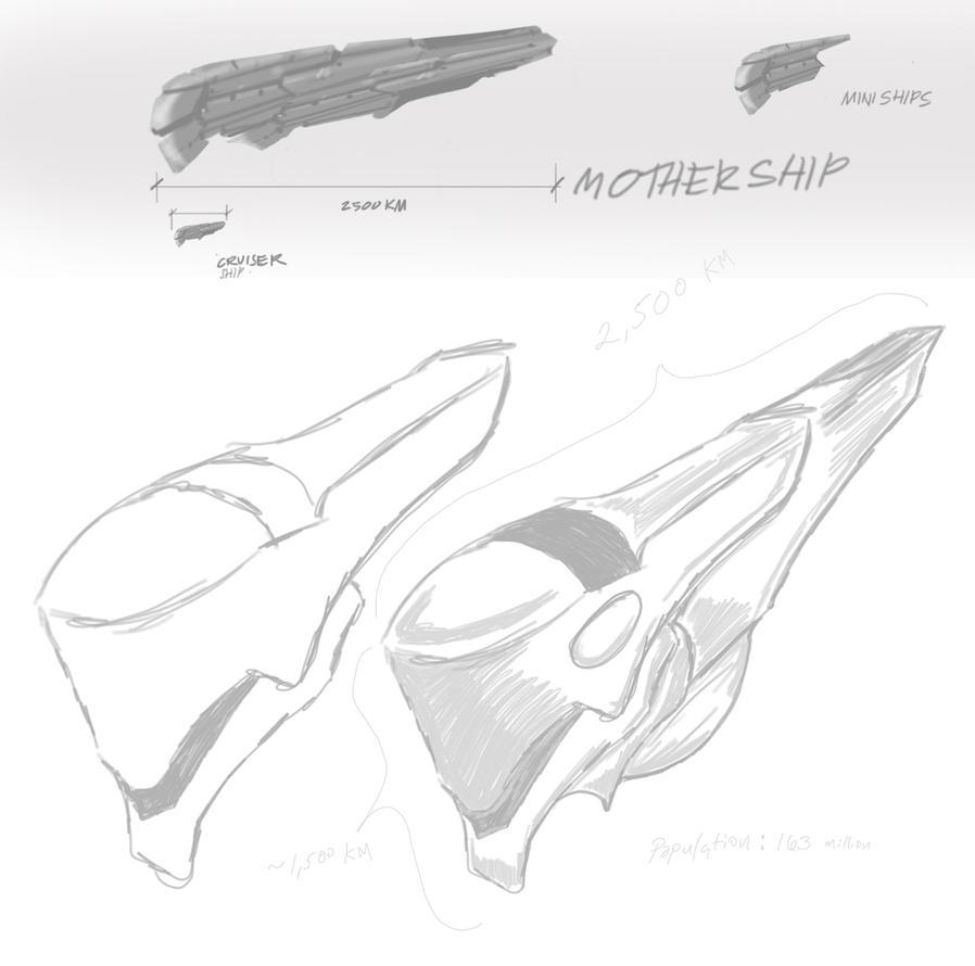 Ideas-for-sarahs-alienship by dmf0