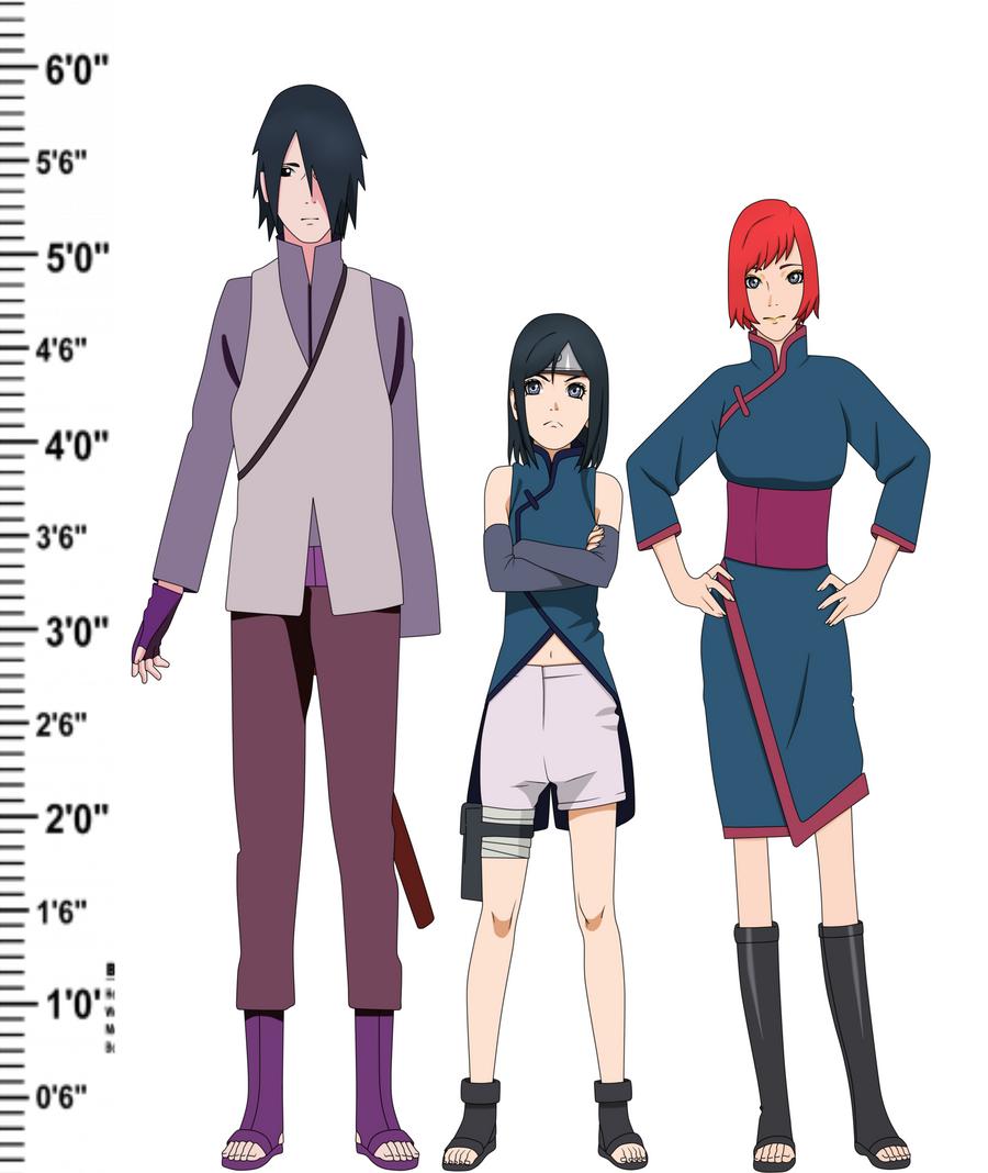 Sasuke and kaori uchiha by silverfire12 on DeviantArt
