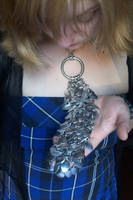 Scale Maille Neck Decoration by rainbowfrogs