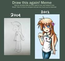 Draw This Again Meme - Elna by LunaticMao