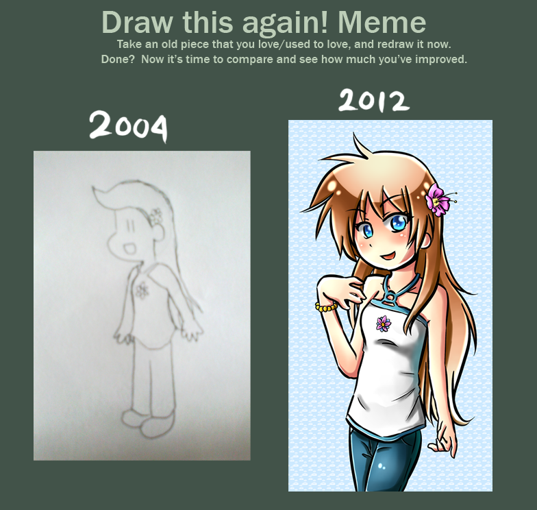 Draw This Again Meme - Elna by LunaticMao on DeviantArt
